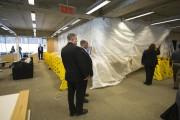 La section où le plafond s'est effondré a... (Photo François Roy, La Presse) - image 1.0