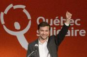 Le candidat Québec solidaire Gabriel Nadeau-Dubois... (Photo Graham Hughes, archives La Presse canadienne) - image 1.0