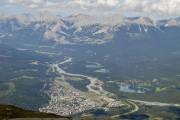 Vue de Jasper depuis le mont Whistler... (Collaboration spéciale Normand Provencher) - image 8.0