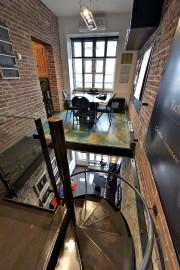 À l'étage, le plancher de contreplaqué a été... (Le Soleil, Patrice Laroche) - image 3.0