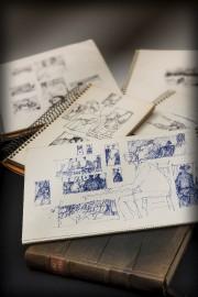 Sélection de carnets de croquis de l'exposition L'Atelier-... (René Bouchard) - image 2.0
