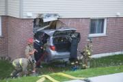 Une automobiliste de 75 ans s'est sortie indemne... (Spectre Média, Julien Chamberland) - image 1.0