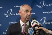 Le commissaire du Baseball majeur, Rob Manfred... (Mary Altaffer, Associated Press) - image 3.0
