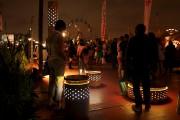 Les festivaliers pourront découvrir l'installation sonore interactive SILO... (Photo courtoisie) - image 1.0