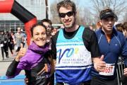 Les gagnants du 10 km, Pascal Dumaresq et... (Photo Le Quotidien, Rocket Lavoie) - image 2.0