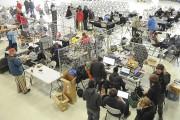 Les étudiants travaillaient sur leur drone à l'intérieur,... (Photo Le Quotidien, Gimmy Desbiens) - image 1.0