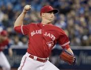 Aaron Sanchez est sur la liste des blessés... (La Presse canadienne, Fred Thornhill) - image 3.0