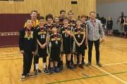 L'équipe de basketball des Mustangs de l'Odyssée Lafontaine... (Photo courtoisie) - image 3.0