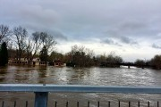 La rivière des Prairies a aussi débordé du... (Yannick Fleury, La Presse) - image 1.0