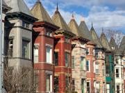 Les maisons colorées de Bloomingdale, un quartier enpleine... (La Presse, Laura-Julie Perreault) - image 5.0