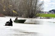 Le lac Saint-Pierre prend ses aises dans le... (Stéphane Lessard, Le Nouvelliste) - image 2.0