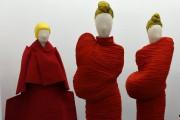 Rei Kawakubo a toujours brouillé les limites entre... (PhotoTimothy A. Clary, Reuters) - image 2.0
