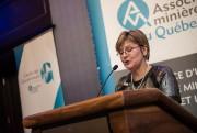 Josée Méthot est PDG de l'Association minière du... (photo fournie parl'Association minière du Québec) - image 1.0