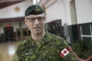 Le capitaine-adjudant Daniel Parenteau des Fusiliers de Sherbrooke... (Spectre Media, René Marquis) - image 1.0