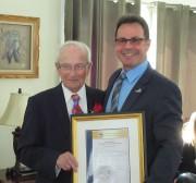 Arthur Dubois et le maire de Shawinigan Michel... - image 2.0