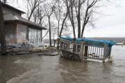 La rivière Saint-Maurice s'est emparée du terrain de... (Sylvain Mayer, Le Nouvelliste) - image 1.0