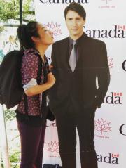 Une doublure en carton de Justin Trudeau.... (Image tirée d'Instagram) - image 1.0