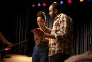 Le réalisateur Justin Simien dirige l'actrice Tessa Thompson... (photo fournie parLionsgate/Séville) - image 2.0