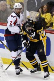 Sidney Crosby a affirmé qu'il avait rencontré un... (AP, Gene J. Puskar) - image 3.0