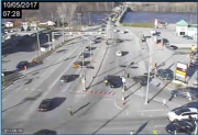 La circulation s'est quelque peu ralentie à l'approche... (Capture d'écran, caméras de circulation du MTQ) - image 3.0