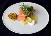 Le saumon confit câpres et citron... (Le Soleil, Erick Labbé) - image 2.0