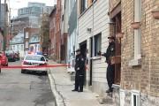 Les policiers ont été appelés sur la rue... (Le Soleil, Patrice Laroche) - image 1.0
