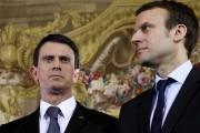 Manuel Valls et Emmanuel Macron en février dernier.... (AFP) - image 2.0