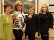 De gauche à droite: Micheline Goyette, vice-présidente, Annie... - image 19.0