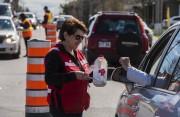 La Croix-Rouge amasse des dons.... (François Gervais) - image 4.0