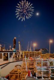Avant que les bateaux ne quittent le port... (PHOTO FOURNIE PAR NIGEL QUINN) - image 2.0