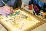 L'histoire imaginée par Jasmine, 5 ans, a été... (Julie Catudal) - image 1.0