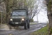L'armée a patrouillé dans plusieurs secteurs dimanche, comme... (Olivier Croteau) - image 3.0