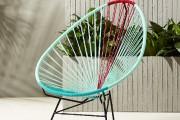 Ce modèle de chaise Acapulco, de CB2, est... (PHOTO FOURNIE PAR CB2) - image 5.0