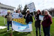 La manifestation avait pour thème «Attachés... à nos... (Alain Dion, La Voix de l'Est) - image 1.0