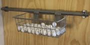 Le panier de métal est pratique pour loger... (fournie par Accroo) - image 2.0