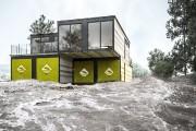 Ces mêmes jumelés sont protégés de l'inondation par... (fournie par Thinking Habitat) - image 3.1