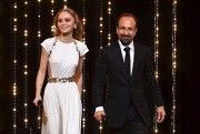 L'actrice Lily-Rose Depp et le réalisateur Asghar Farhadi... (AFP, Alberto Pizzoli) - image 3.0