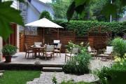 L'ancienne terrasse a été conservée, mais la paysagiste... (Photo fournie par Paysagiste Andryves) - image 2.0