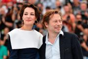 Jeanne Balibar et Mathieu Amalric... (AFP, Alberto Pizzoli) - image 2.0