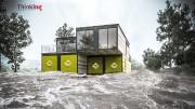 Les portes et fenêtres des maisons imperméables sont... (Thinking Habitat) - image 1.0