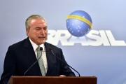 Le président brésilien Michel Temer... (PHOTO Ricardo Botelho, archives ASSOCIATED PRESS) - image 1.0