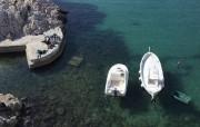 Des bateaux et des badauds sous le soleil,... (Photo Jean-Christophe Laurence, La Presse) - image 1.1