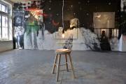 Camille Dionne a peint à même les murs,... (Le Soleil, Patrice Laroche) - image 4.0