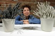 Amélie Proulx expose ses assemblages de céramique organiques... (Le Soleil, Erick Labbé) - image 6.0