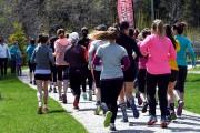 La première édition du Trail au féminin avait... (Photo Le Quotidien, Rocket Lavoie) - image 1.0