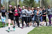 La première édition du Trail au féminin avait... (Photo Le Quotidien, Rocket Lavoie) - image 1.1