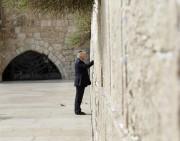 Donald Trump au mur des Lamentations.... (Photo Evan Vucci, Associated Press) - image 1.0