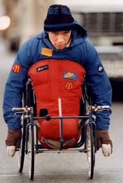 Rick Hansen en 1986... (Archives, La Presse canadienne) - image 2.0