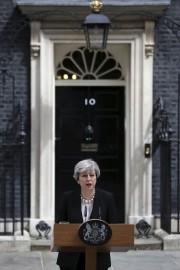 La première ministre Theresa May a donné un... (AFP, Daniel LEAL-OLIVAS) - image 3.0