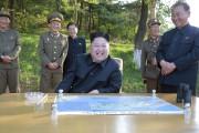 Le leader nord-coréen, Kim Jong-Un... (PHOTO AGENCE KCNA/AP) - image 1.0